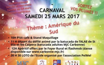 Le Carnaval «America del Sud»