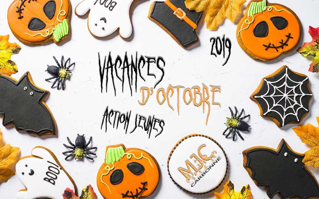 Vacances Octobre 2019 – Action Jeunes