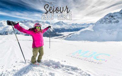 Un séjour au ski, ça vous dit ?