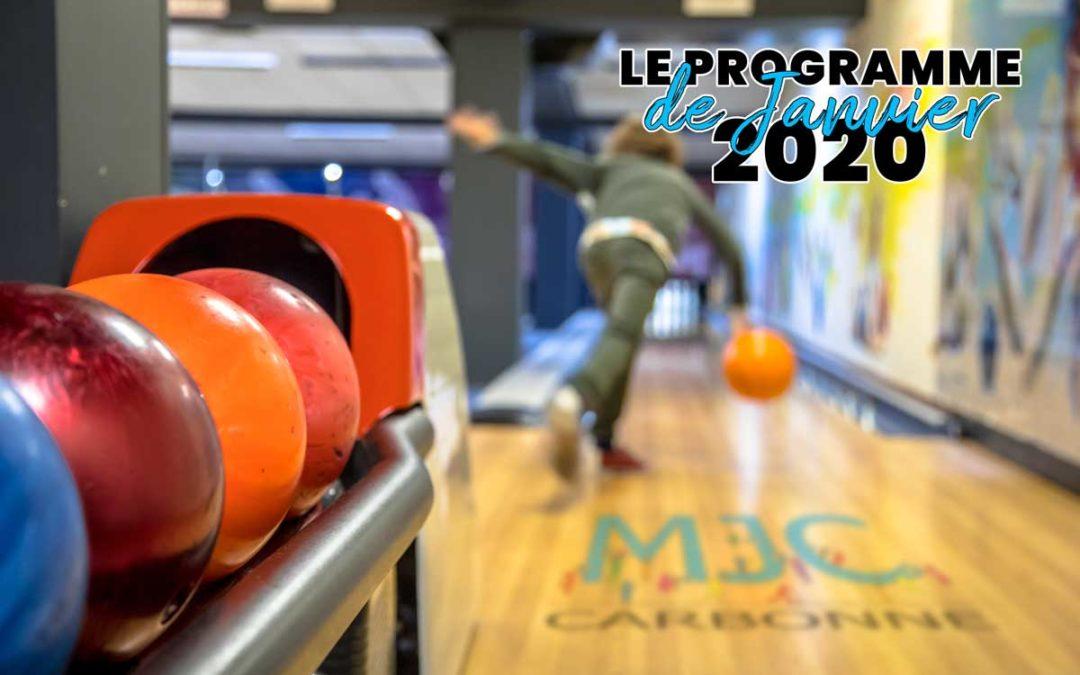 Le programme de Janvier 2020 est là !