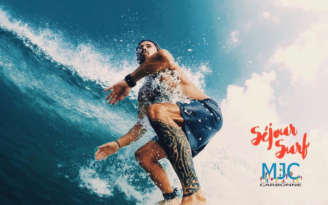Les vagues nous appellent ! – Séjour Surf