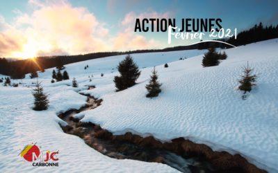 Action Jeunes – Vacances Février 2021